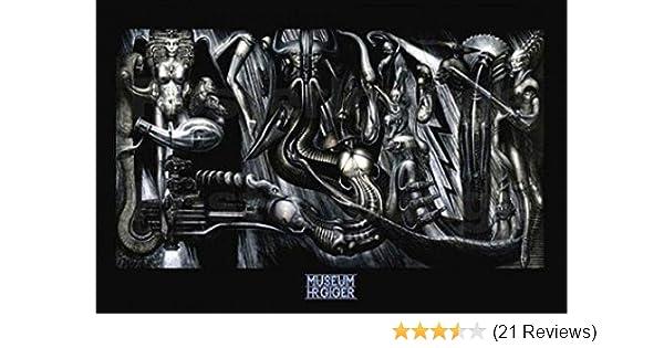 Li ll 3-D HR Giger Poster 24x36