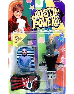 Amazoncom Austin Powers Mini Me Figure Toys Games