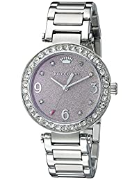 Juicy Couture Women's 1901327 Analog Display Quartz Silver Watch