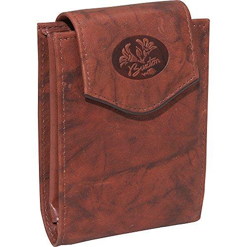 Brown Mahogany Ladies Billfold Leather (Mahogany Womens Wallet)