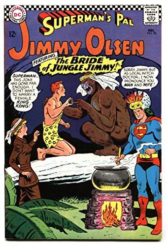 SUPERMAN'S PAL JIMMY OLSEN #98 1967-DC-Olsen Married a monkey! VF- ()