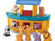 Fisher-Price Little People Noah's Ark, Frustration Free Packaging