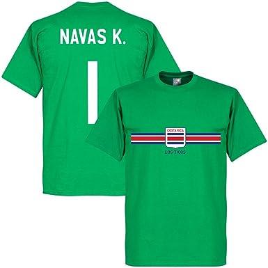Costa Rica Keylor Navas Goalkeeper Tee - Green - XS