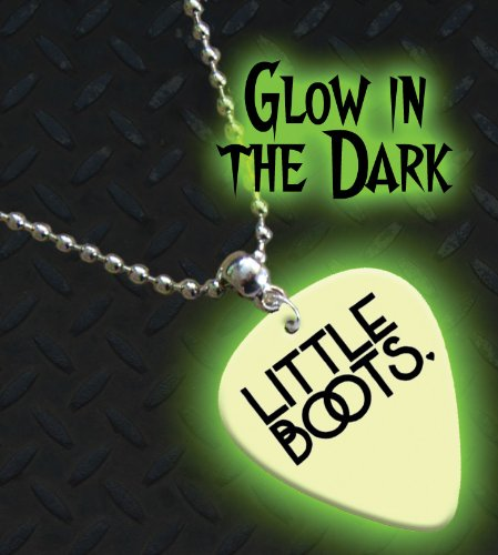 Little Boots Glow In The Dark Premium Guitar Pick Necklace / Chain