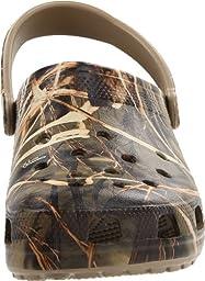 crocs Men\'s Classic Realtree Clog,Khaki,10 M US