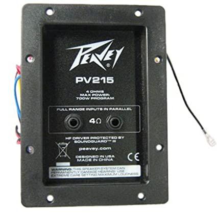 amazon com peavey pv215 speaker crossover 73900692 everything else rh amazon com Rockford Fosgate Amp Wiring Diagram Guitar Speaker Wiring Diagrams
