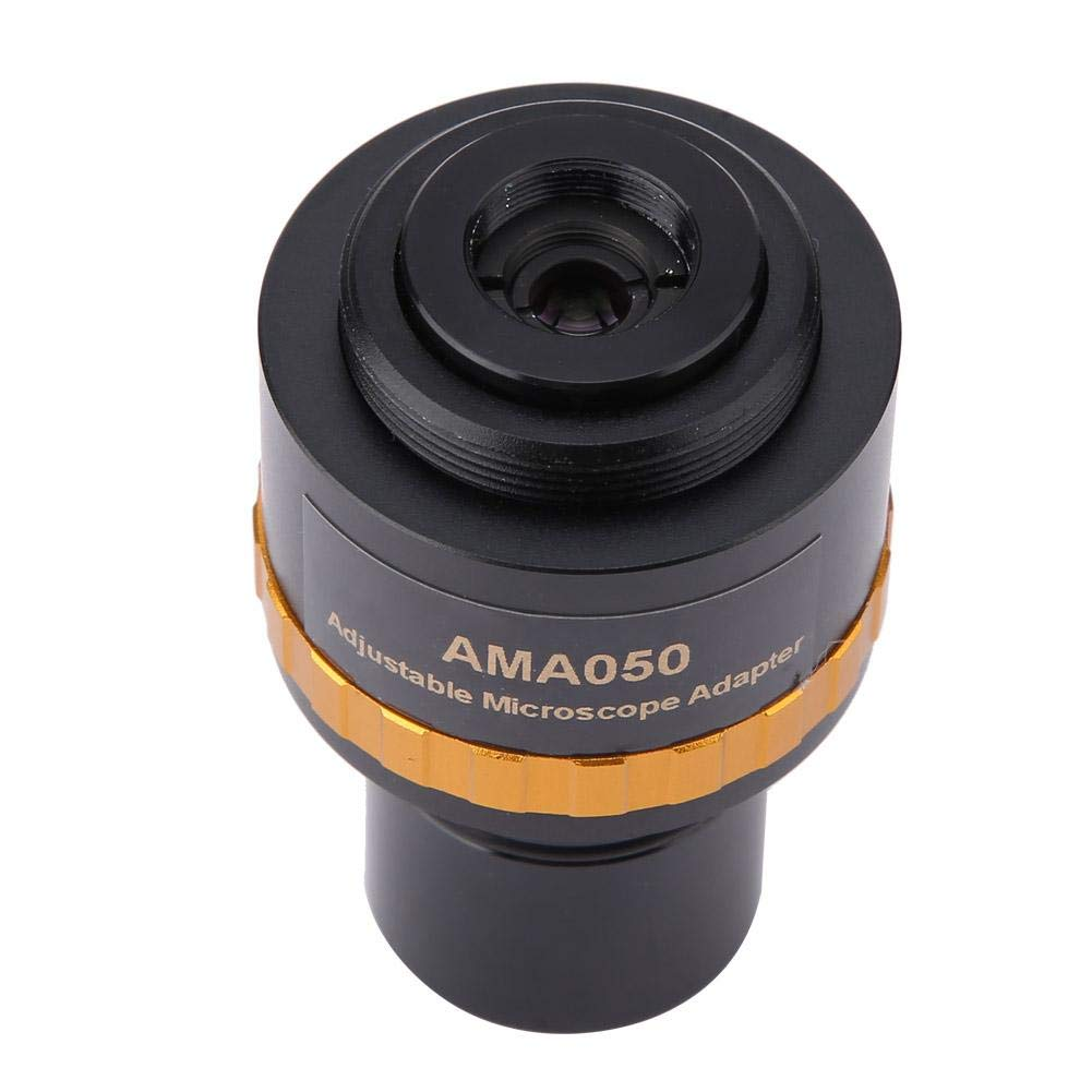 Microscope Camera Adapter Fit to 1//2~2//3 Size Sensor Adjustable 23.2 Eyepiece to Microscope Eyepiece Adapter 0.5X Microscope Lens Adapter