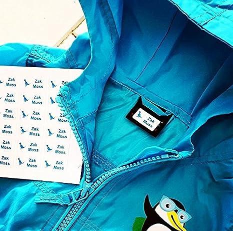 30 X Etiquetas Autoadhesivas Para Ropa, Peluches Y Otros | Pegatinas Personalizadas | Se Aplican Sin Tener Que Coser Ni Planchar: Amazon.es: Oficina y ...