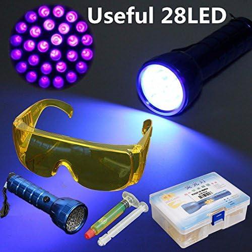 Juego de detector de fugas de gases de líquido UV para ...