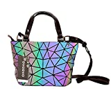 Shooting in Camera Flash Mode Women bao Bag Geometry Sequins Plain Folding Bags
