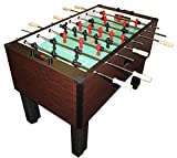 Gold Standard Home Pro Mahogany Foosball - Stainless Steel & Wood