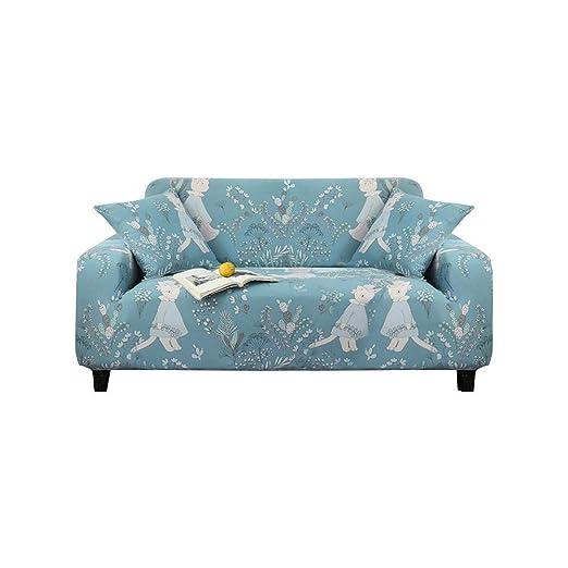 lembrd Funda de sofá de salón Extensible 1/2/3 plazas ...