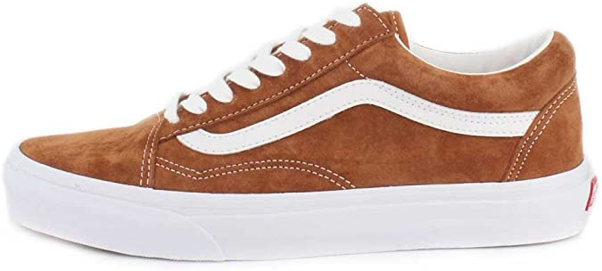 Vans Old Skool Leather Brown True White 44.5: