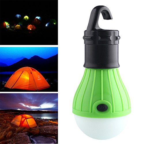 Soft Light Outdoor Portable Hanging LED Camping Tent Light Bulb Fishing Lantern Lamp