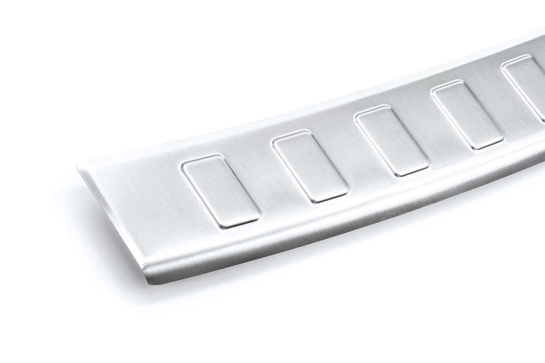Tuning-Art L162 Protezione per paraurti in Acciaio Inox con Profilo 3D e Bordi arrotondati