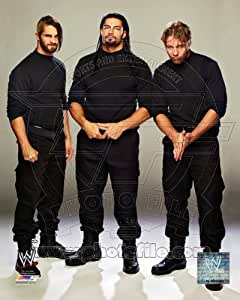Shield (Dean Ambrose, Roman Reigns, and Seth Rollins) - WWE 8x10 Glossy Photo