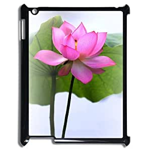Beautiful lotus Brand New Cover Case with Hard Shell Protection for Ipad2,3,4 Case lxa#893213