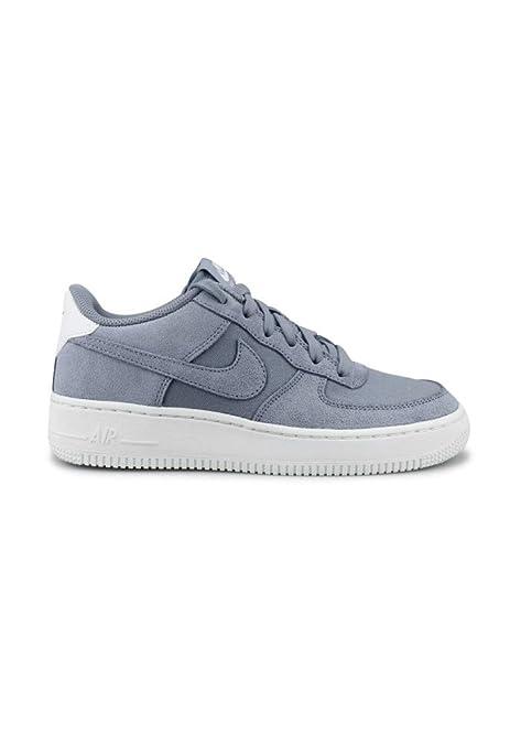 new style 9e550 6b388 Nike Air Force 1 Suede (GS), Scarpe da Ginnastica Basse Uomo  Amazon.it  Scarpe  e borse