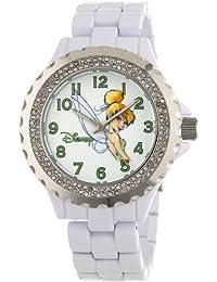 Disney Women's W000497 Tinker Bell Enamel Sparkle Bracelet Watch