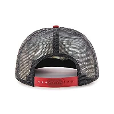 MLB Arizona Diamondbacks Women's Glimmer Captain Adjustable Snapback Hat, Black