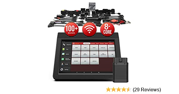 Amazon.com: LAUNCH X431 V+ Full System Scan Tool (Upgraded Ver. of X431 V  PRO) Diagnostic Scanner Bi-directional Code Reader ECU Coding Key Program  30+ Service Functions Oil Reset ABS Bleeding 2 Years