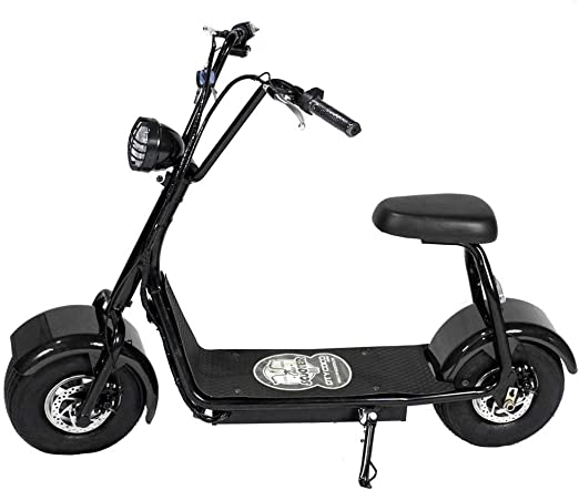 CityCoco MINI 800W/48V/12aH/Litio Negro Gran-Scooter: Amazon.es ...