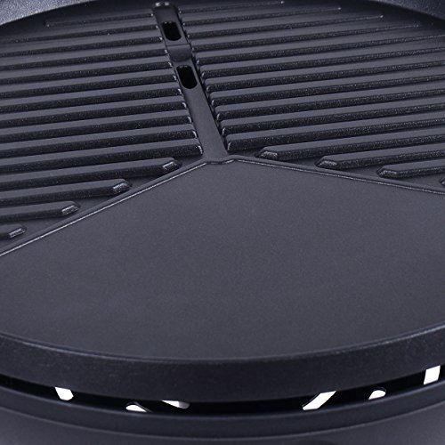 New Electric BBQ Grill 1350W Non-stick 4 Temperature Setting Outdoor Garden Camping by totoshop (Image #5)
