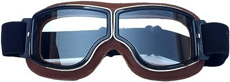 Ottoben Maske Retro Style Winddichte Brille Sportbrille Fahrradbrille Off Road Schutzbrille Langlauf Motorrad Brille Outdoor Für Damen Und Herren Küche Haushalt