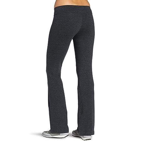 Keepwin Pantalones Yoga Tiro Regular Campana Pantalones de ...