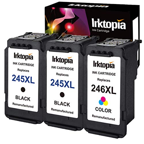3 Pack Remanufactured Ink Cartridge Replacement for Canon PG
