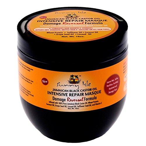 sunny isle jamaican black castor oil intensive repair masque import it all. Black Bedroom Furniture Sets. Home Design Ideas