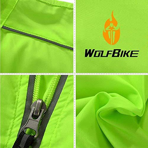 Aire De Grün Desgaste Larga Chaqueta Al De Softshell Abrigo Libre Cuello Ropa Manga Jersey De Unisexe Montaña Ciclismo Chaqueta Ciclismo Pararse RO4vgWq