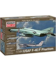 Minicraft F-4E Phantom ADC/RAF Model Kit, 1/144 Scale