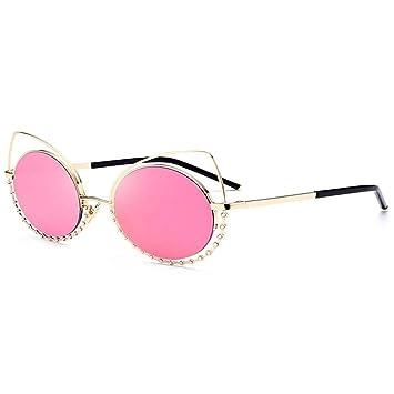 Gafas de sol con forma de ojo de gato de diamantes de ...