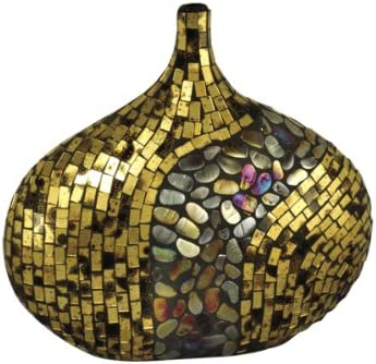 Dale Tiffany PG10041 Antique Gold Art Decorative Accent, 14-1 2-Inch by 13-Inch