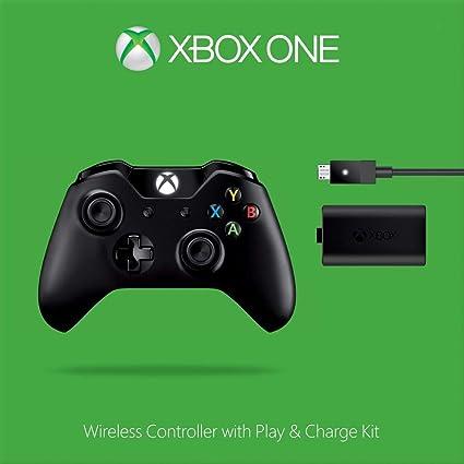 Microsoft - Pack: Mando Wireless + Kit Carga Y Juega - Reedición ...