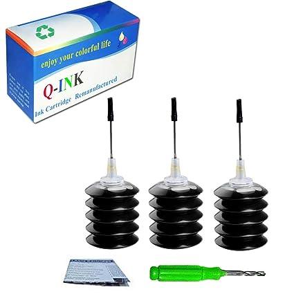 QINK - Paquete de 2 recambios de tinta para HP 62 cartucho ...