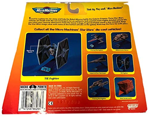 Star Wars Micro Machines Die Cast Metal TIE Fighter Executor w// Star Destroyer Movable Action Vehicles /& Villains Playing Cards Packs 2 Super Miracle Bubbles Bundle mmsw