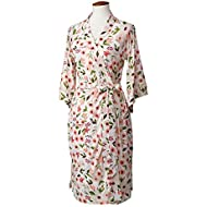 LÍLLÉbaby Cozy Robe for Maternity and Post-Partum Comfort - Bloom- L/XL