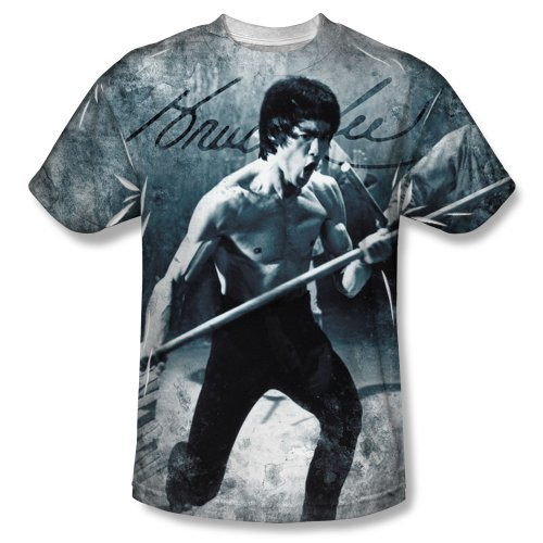 Bruce Lee - Whoooaa T-Shirt Size XL (The Legend Of Bruce Lee 2008 English Subtitles)
