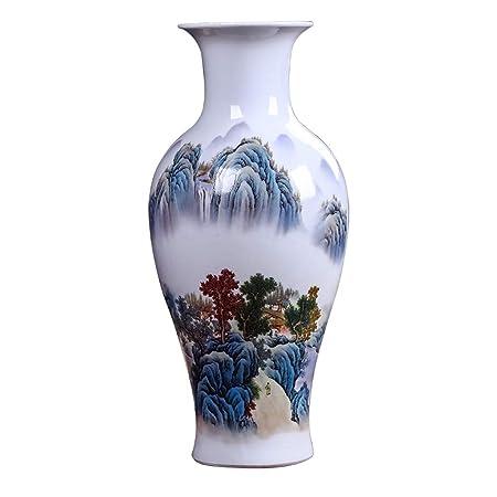 Jarrones Florero cerámica Feng Shui Pintura Sala de Estar Inicio ...