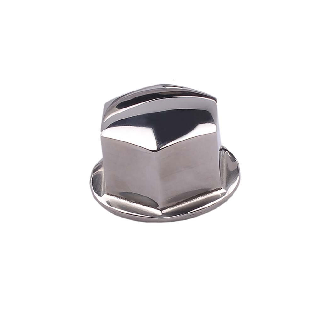M-ARINE BABY 316 Stainless Steel 1/2''-20 Steering Wheel Center/Hub Nut for Teleflex manual helms system Boat, Yacht