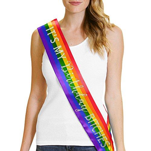 (IT'S MY Birthday BITCHES! Sash Birthday LGBTQ Gay Pride Party Decorations)