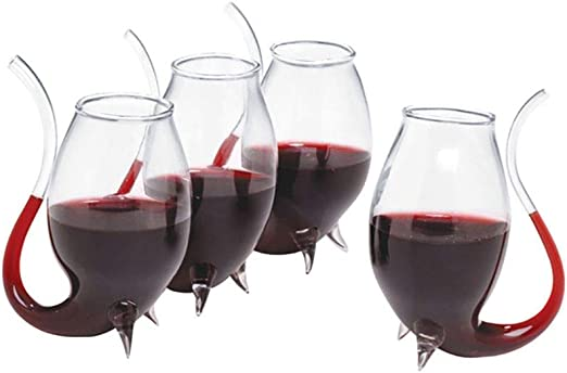 Clear Oenophilia Stemless Wine Glass Set of 6