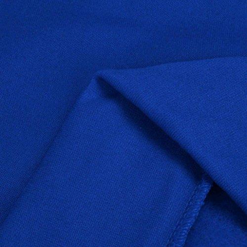 Hoodie Sweat Manches Manteau Manteaux Bleu2 Capuche Longues Hauts Mens À Tonsee® qtPFF