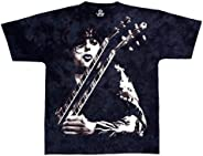 Liquid Blue Men's Led Zeppelin Jimmy Page Short Sleeve T-S