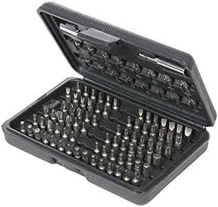 Silverline 633840 Juego de puntas para destornillador