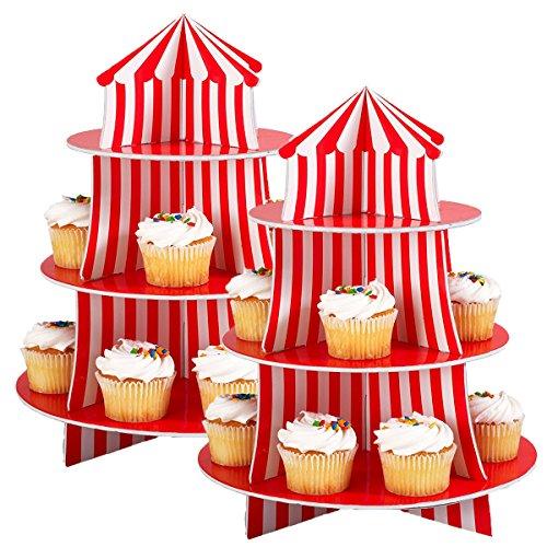 Fun Express Big Top Cupcake Holder (2 Packs)