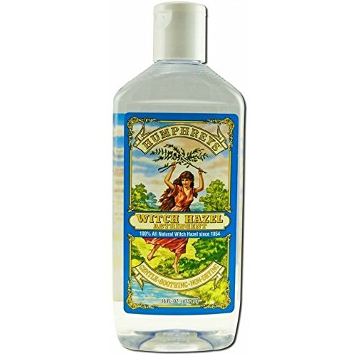 Humphreys Witch Hazel Astringent 16 oz (2 pack)