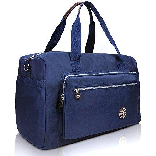 Men Toiletry Bag, Travel Shaving Kit Bag for Men and Women by ZYSUN (7-blue)